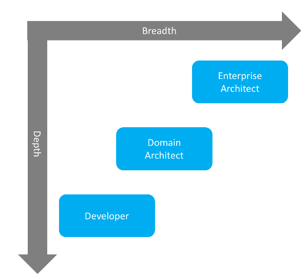 Enterprise architect vs domain architect vs developer for Enterprise architect vs