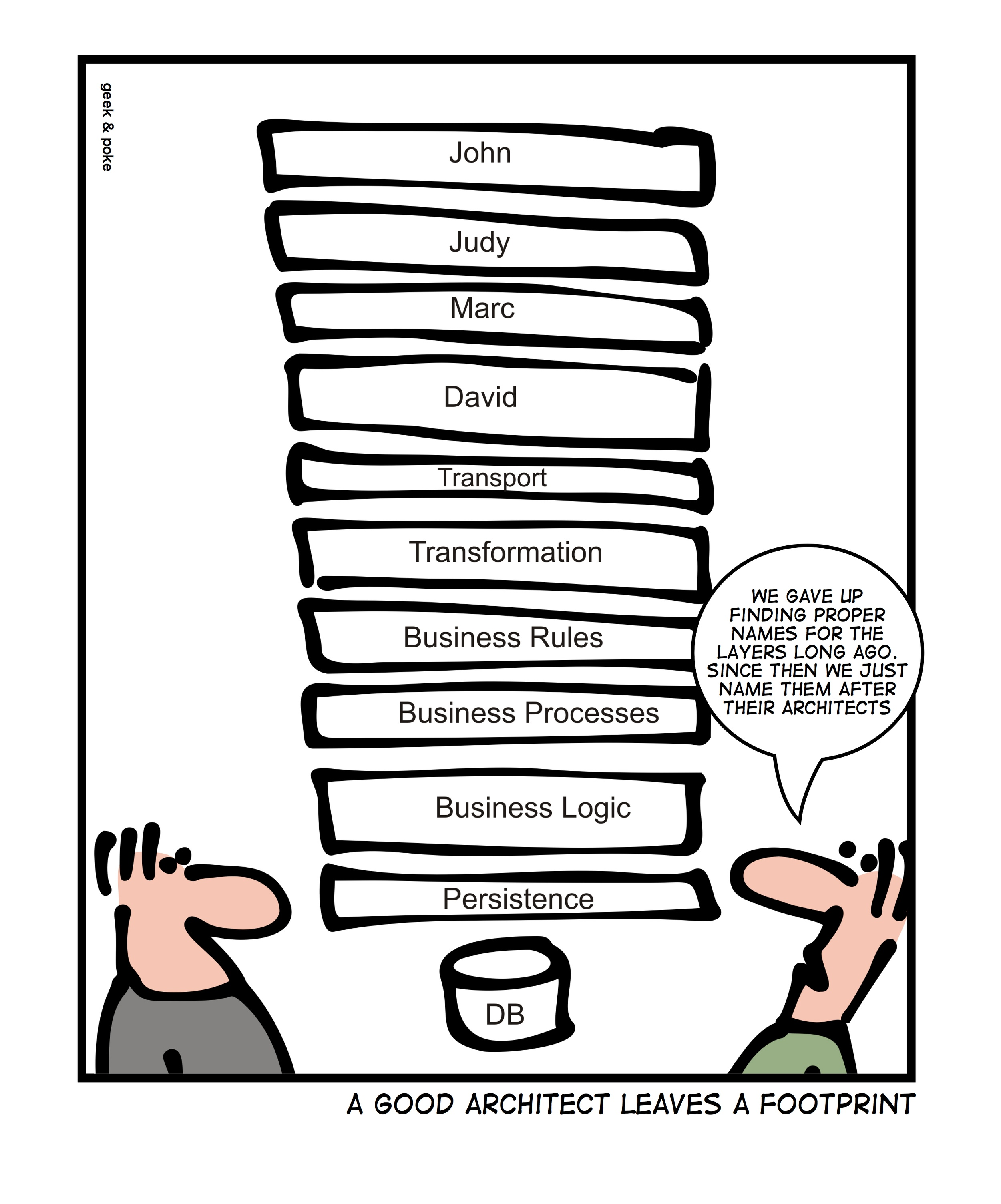 enterprise architecture joke