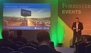 LeanIX at the Forrester Digital Transformation Forum Europe 2016