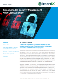 Streamlined IT Security Management with LeanIX Survey