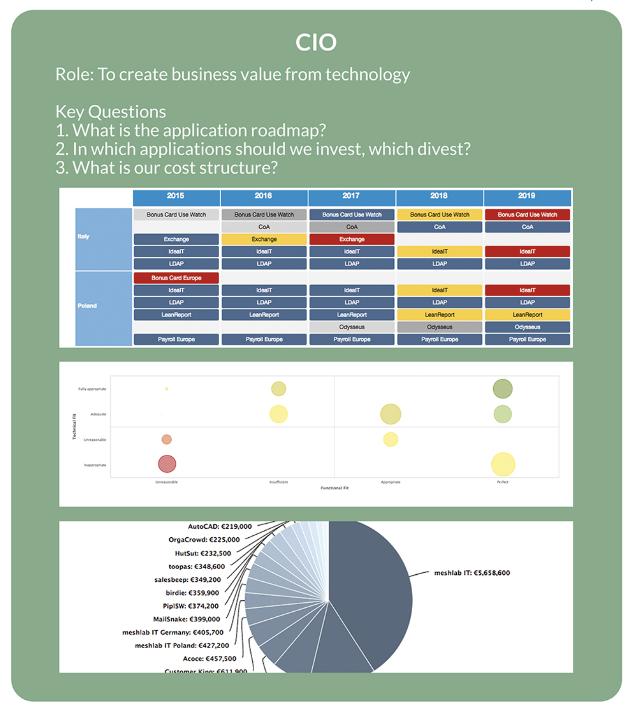 CIO stakeholder questions