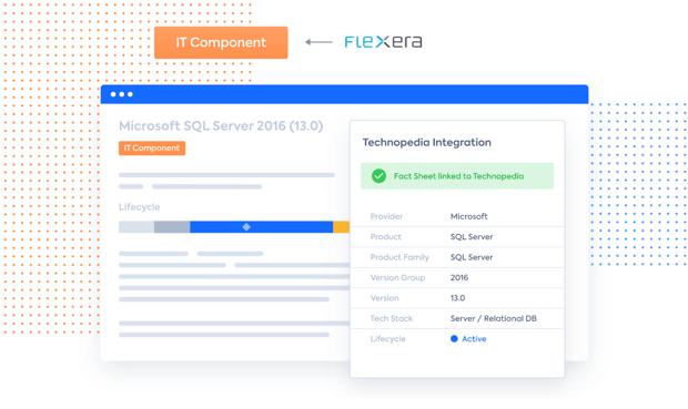 Technology Vendor Catalog Flexera Technopedia Enterprise Architecture