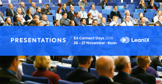 An Update on the LeanIX EA Connect Days 2019 Agenda