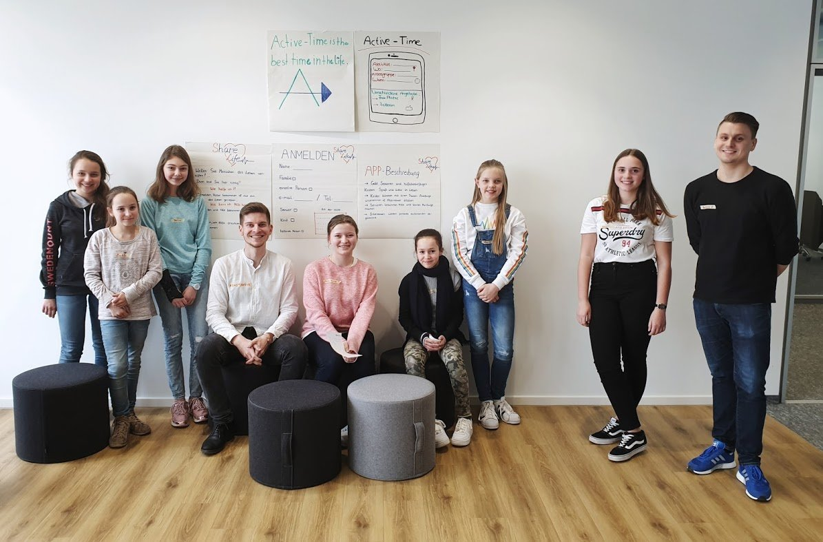 Coding for Girls - not only for nerds! Girls´ Day 2019 at LeanIX