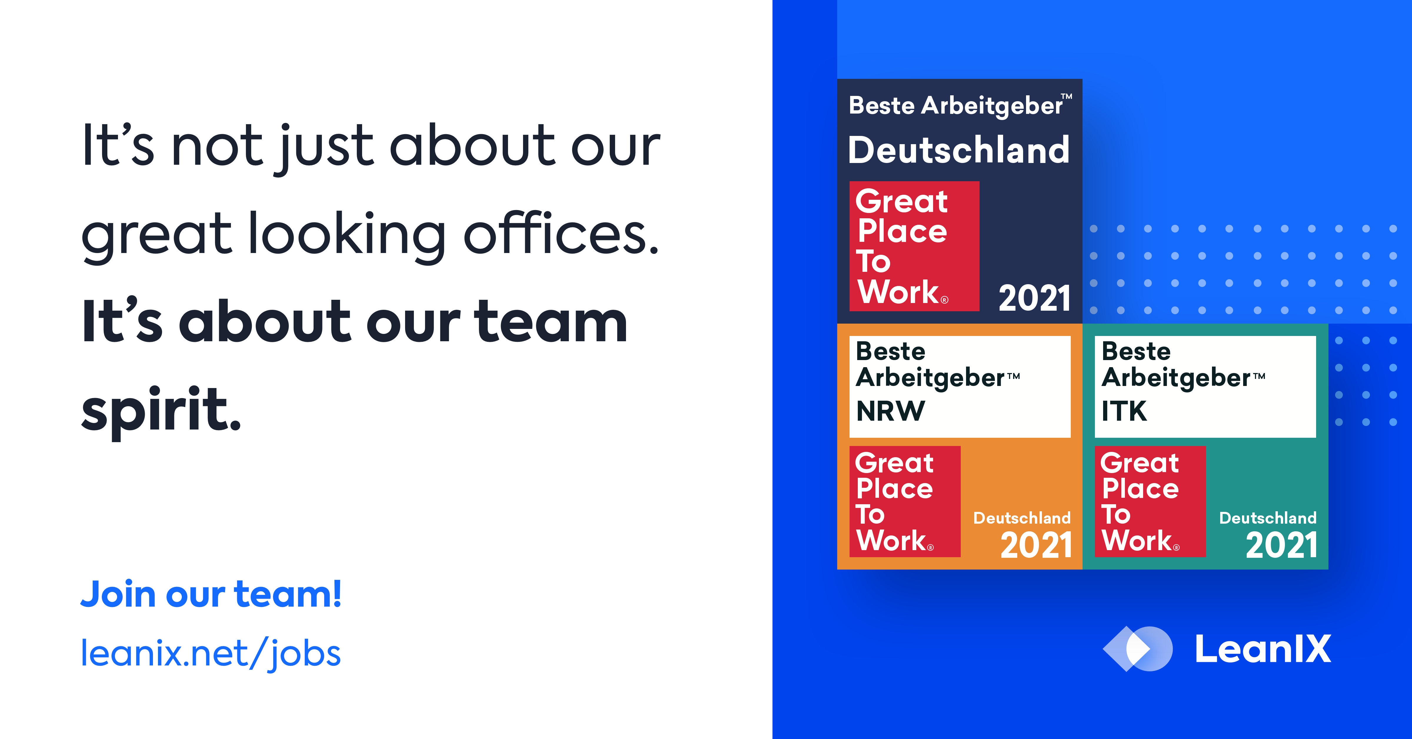 Want the Best Place to Work? Join the LeanIX Team!